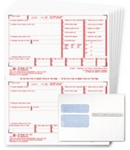 W2 Forms and W-2 Blank Paper and Envelopes by DiscountTaxForms.com