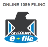 Online 1099 and W2 filing with e-file, print and mail services from DiscountEfile.com