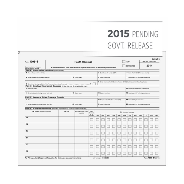 ACA Reporting with 1095 & 1094 Forms | 1099-W2 Info
